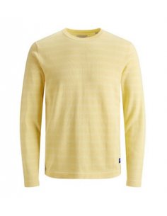 JORPLATO KNIT CREW NECK GOLDEN