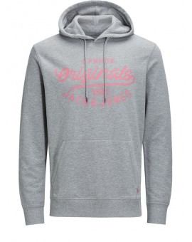 JORFINISH SWEAT HOOD GREY J&J