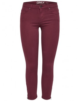 ONLSERENA CROPPED PANT TAWNY PORT ONLY