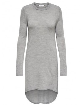 JDYNONA DRESS LIGHT GREY MELANGE JACQUELINE DE YONG