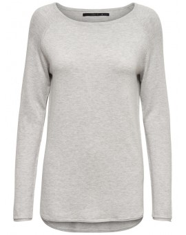 ONLMILA LACY PULLOVER LIGHT GREY MELANGE ONLY