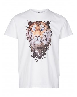 CAMISETA MACON WHITE !SOLID