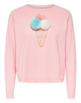 ONLVALLY L/S STRAWBERRY ONLY