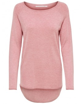 ONLMILA LACY PULLOVER BLUSH ONLY