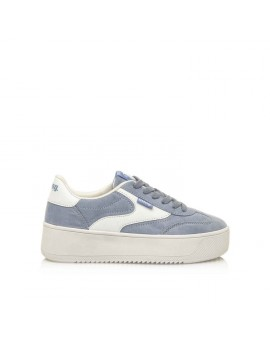 ZAPATILLAS DEPORTIVAS WAVEY SOFTY CELESTE/ACTION PU BLANCO MUSTANG