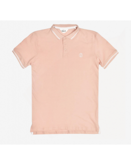 POLO T-SHIRT MANUS ROSA !SOLID