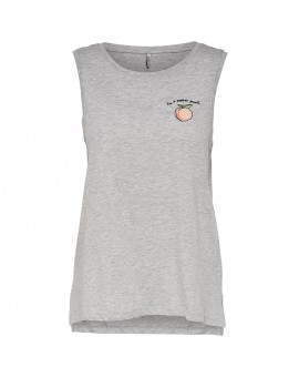 ONLPENNY PEACH TOP LIGHT GREY ONLY