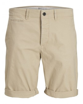 JJIENZO JJCHINO SHORTS WHITE PEPPER J&J