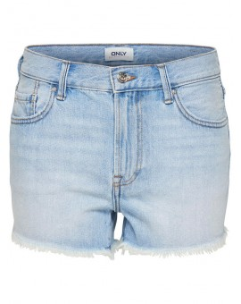 ONLDIVINE SHORTS LIGHT BLUE ONLY