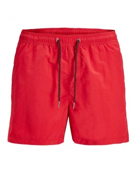 JJISUNSET SWIN SHORT RACING RED J&J