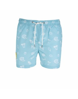 JJISUNSET SWIM BLUE J&J