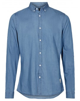 SHIRT JUAN DENIM LIGHT !SOLID