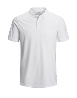 JJEBASIC POLO NOOS WHITE J&J