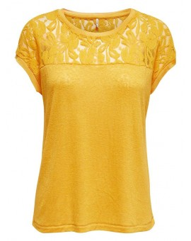 ONLRILEY TOP GOLDEN YELLOW ONLY