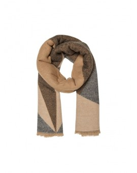 ONLTILLA WEAVED SCARF CAMEL/PUMI ONLY