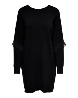 JDYKIMORA DRESS BLACK/BLACK JACQUELINE DE YONG