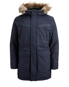 JCOEARTH PARKA NAVY JACK & JONES