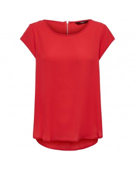 ONLVIC S/S SOLID TOP RED